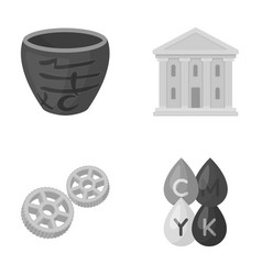 business history tourism and other web icon in vector image