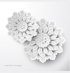 Islamic geometric design background vector
