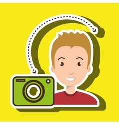 Man camera photography images vector