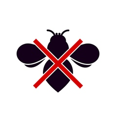 No Insects Symbol vector image