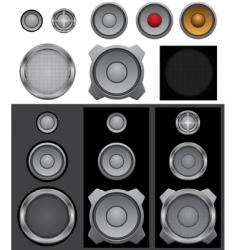 speaker basic vector image vector image