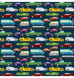 Passenger car background vector image vector image