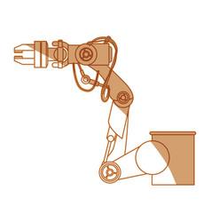 Robot arm set vector