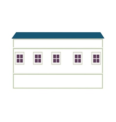 A view of house vector