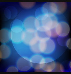 Background design with blue and white light vector