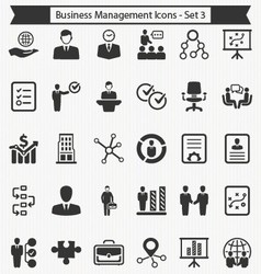 Business Management Icons - Set 3 vector