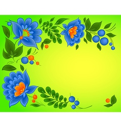 floral backgrounds paint pattern vector image