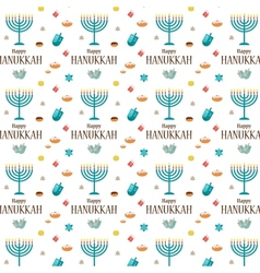 Hanukkah background and template vector