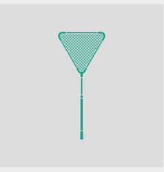 icon of fishing net vector image