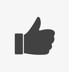 like icon gestures icon glyph solid style vector image