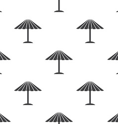 parasol seamless pattern vector image