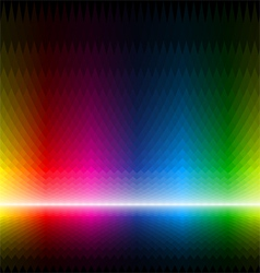 Seamless multicolor background vector image