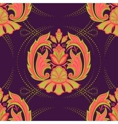 Seamless oriental wallpaper2 vector image