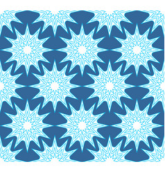 hipster seamless background with outline star vector image