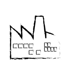 Industrial factory symbol vector