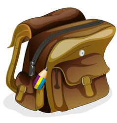 a school bag vector image
