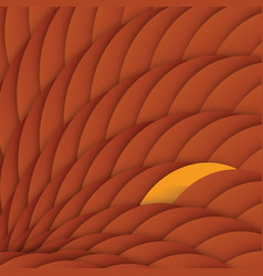 Red dragon scales abstract geometric background vector