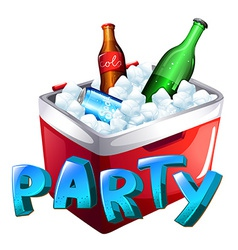 A party celebration vector
