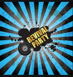 Club party flayer for music event or poster vector