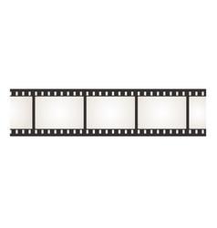 Filmstrip photo and movie camera negative film vector