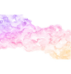 watercolor abstract paint gradient background vector image
