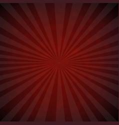 dark red burst retro poster vector image