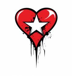 Love star vector