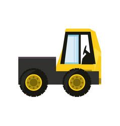 mini truck vector image vector image