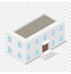 Architecture isometric house vector