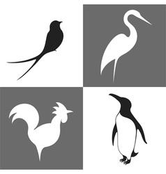 Bird Icon Set vector