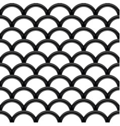 Black steel grating wave seamless structure vector