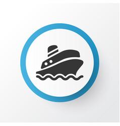 Cruise icon symbol premium quality isolated vector