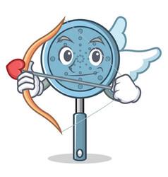 Cupid skimmer utensil character cartoon vector