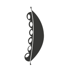 fresh beans isolated icon design vector image