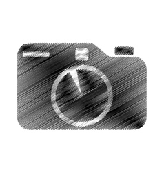 hand draw photographic camera digital vector image