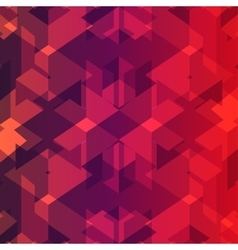 Isometric cubes repeatable pattern 3D background vector