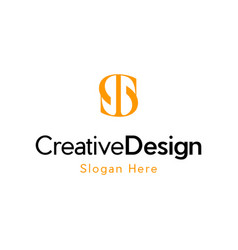 Letter st creative business logo vector
