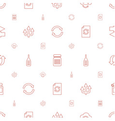 Refresh icons pattern seamless white background vector