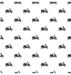 Scooter pattern simple style vector