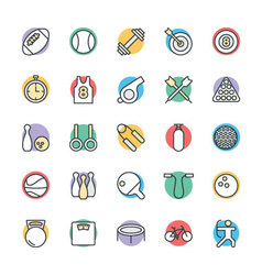 Sports Cool Icons 1 vector