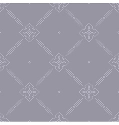 Thin line art seamless pattern for web site vector