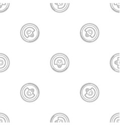 top can pattern seamless vector image