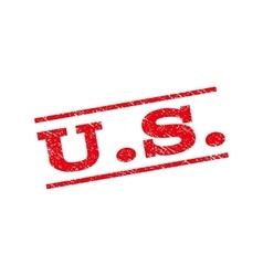 U S Watermark Stamp vector