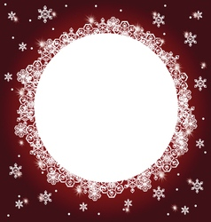 winter background 5 vector image