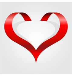 Abstract heart symbol vector image