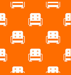 armchair pattern seamless vector image vector image