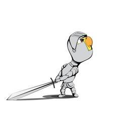 Chick knight vector