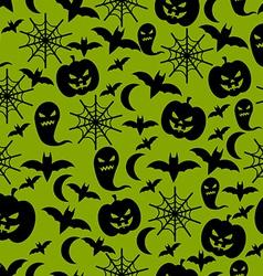 halloween background 8 vector image vector image