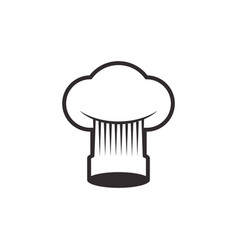 Chef hat toque vector