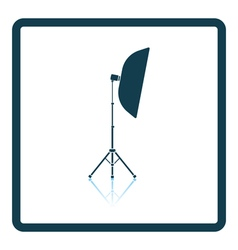 Icon of softbox light vector